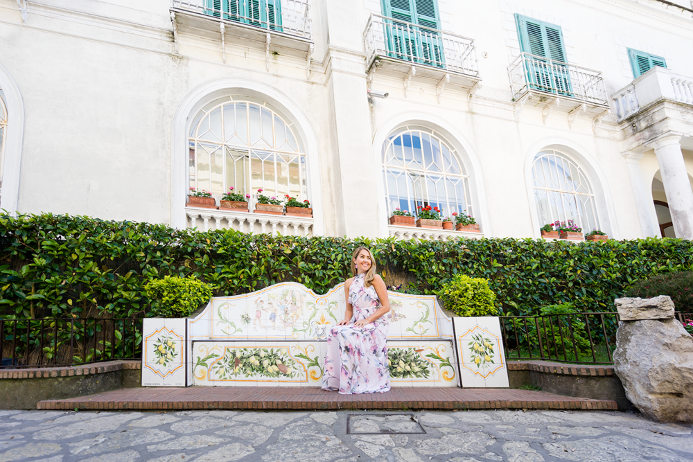 Capri, Italy - floral maxi, what to wear