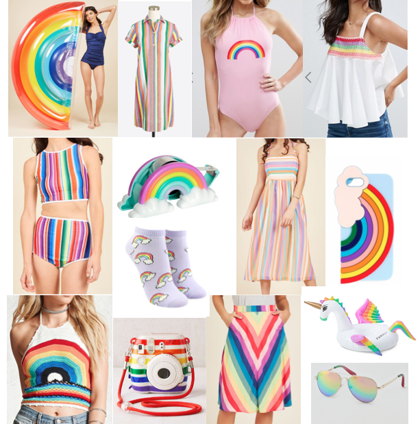 Rainbow on a budget