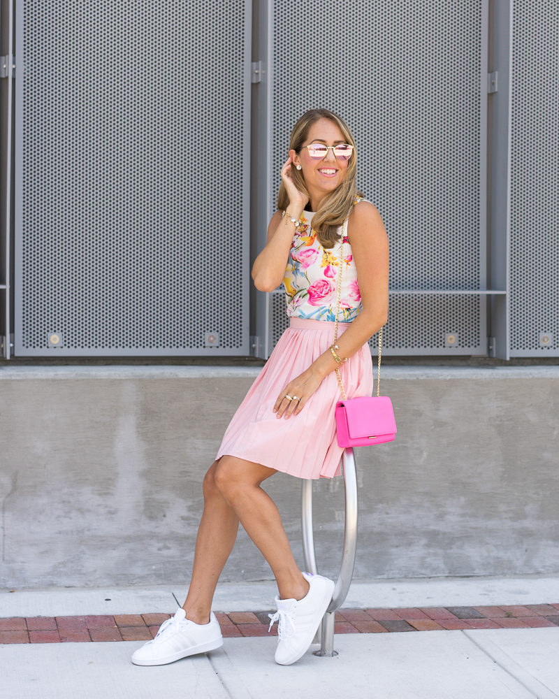 Sneakers + Skirts 3 Ways With Shoes.com