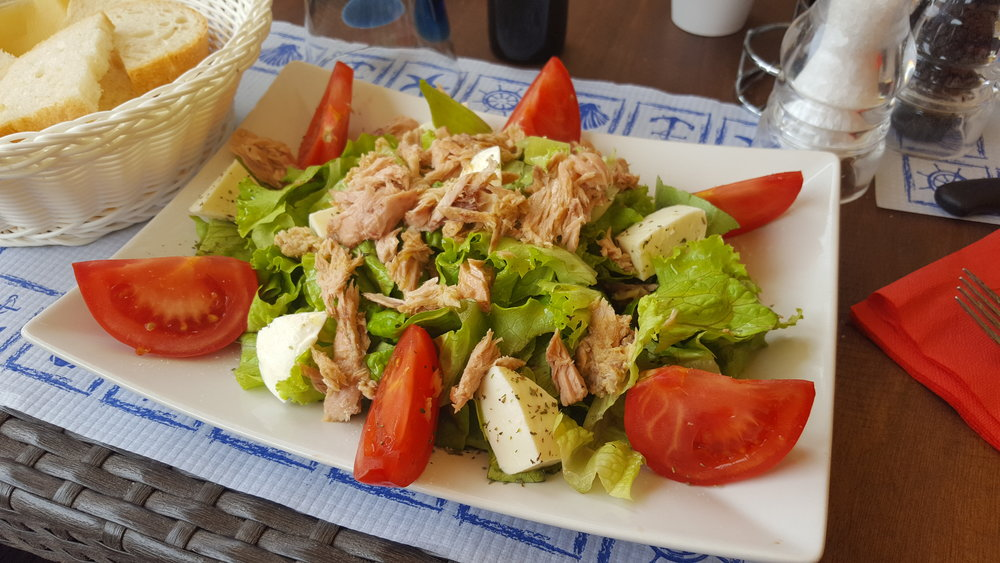 Ensalata tonno in Italy