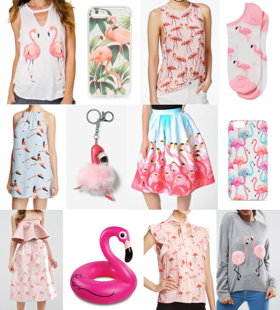 Flamingo style on a budget