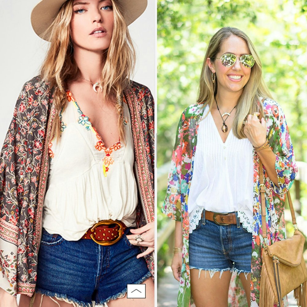 Inspiration:  free People via nordstrom
