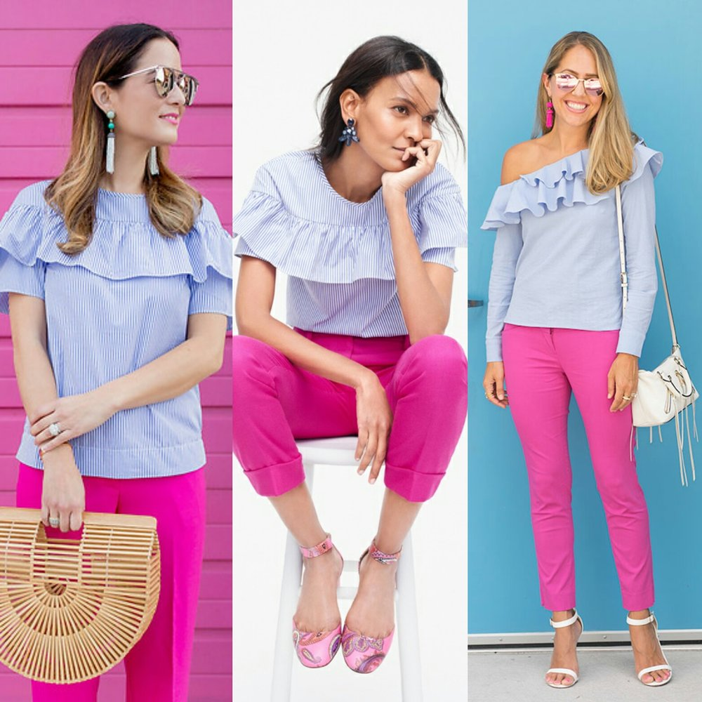Inspiration:  JenN Lake  and  J.Crew
