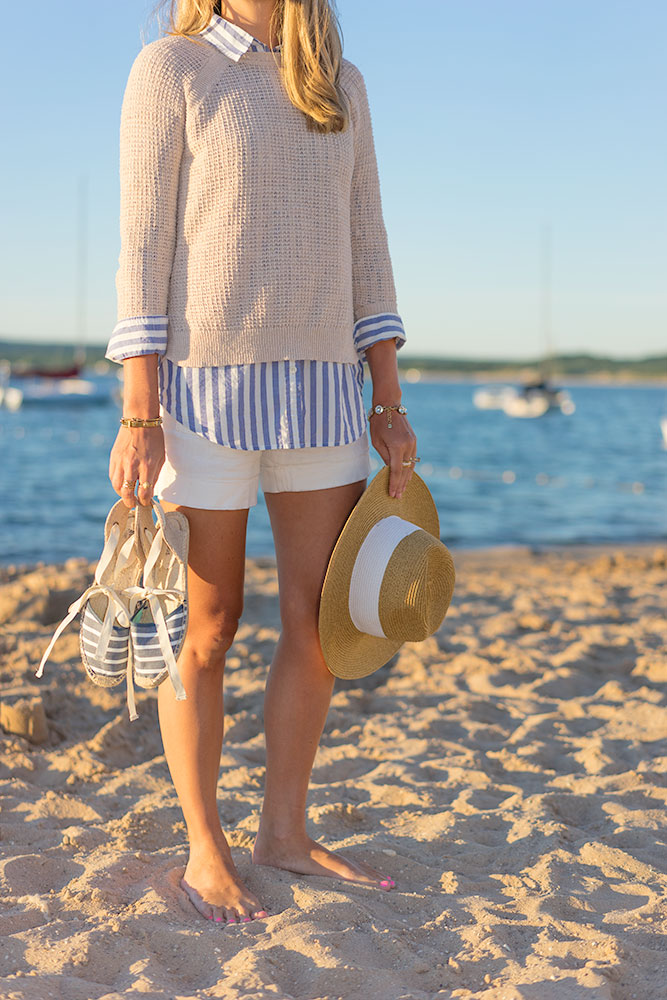 Lake Michigan stripes nautical outfit