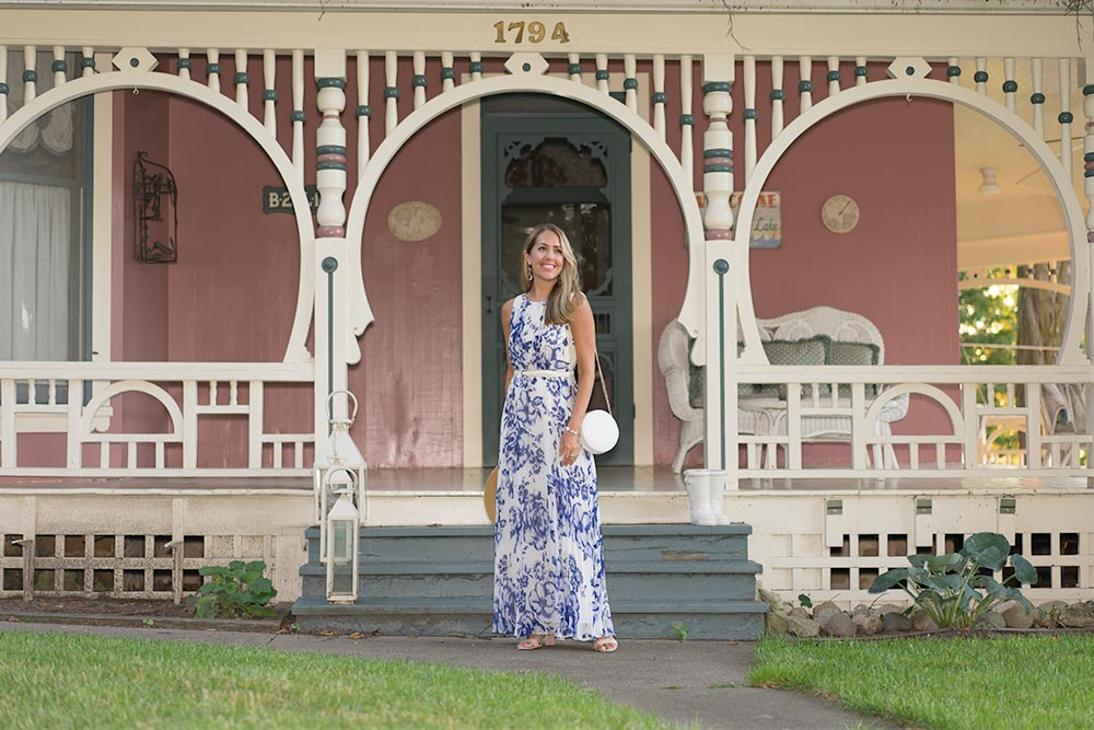 Bay View, Michigan - Eliza J maxi dress