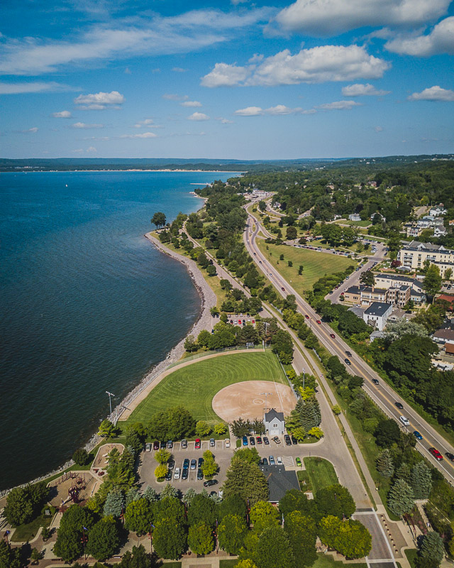 Petoskey and Bay View