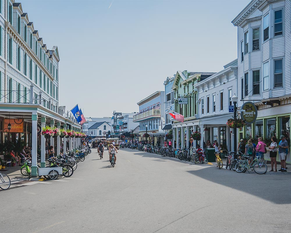 Mackinac Island Main St