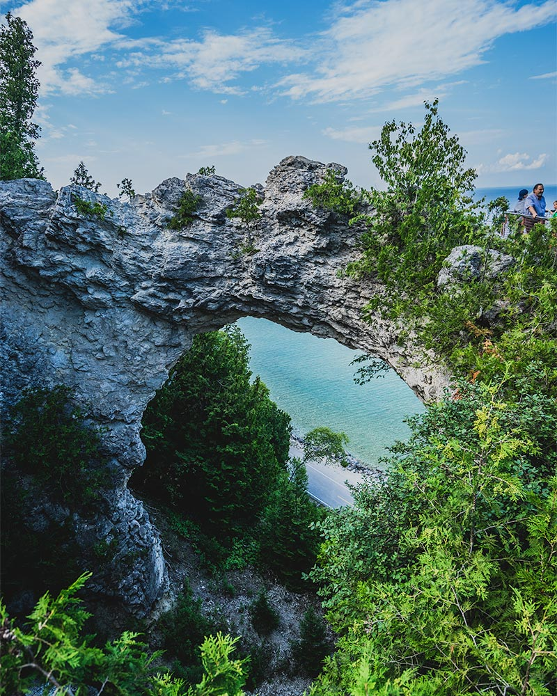 Mackinac Island - Arch Rock