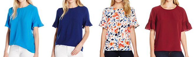 Lark and Ro bell sleeve tops