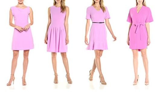 Lark & Ro violet dresses