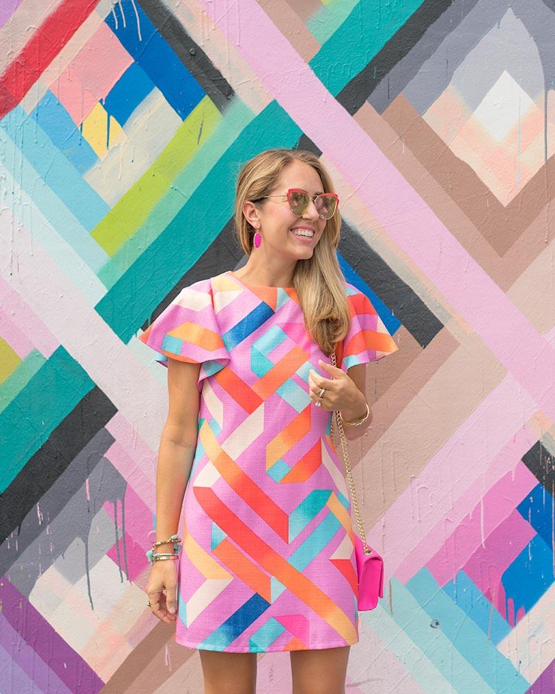 Wynwood Walls colorful dress