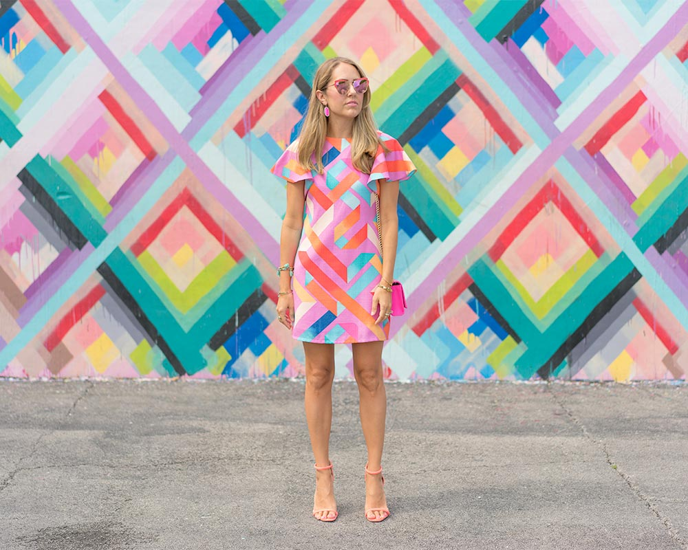 Wynwood Walls colorful dress