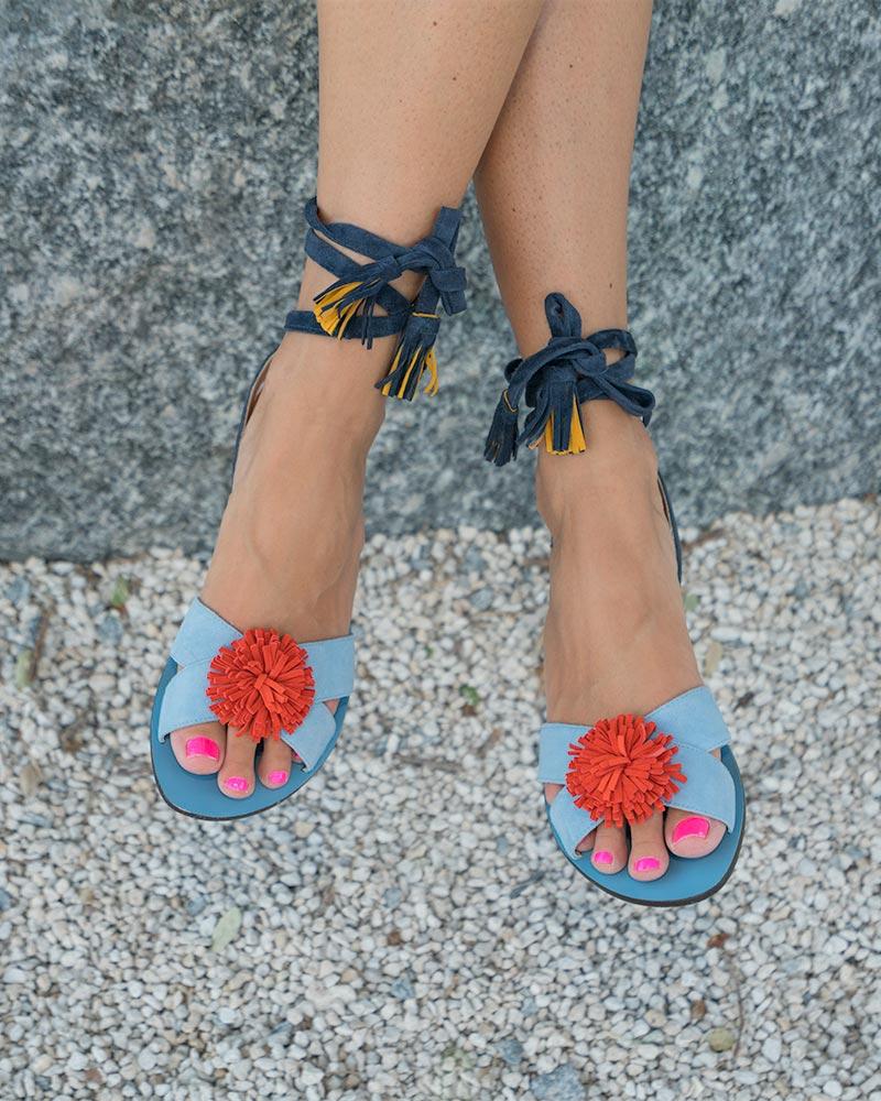 J.Crew tassel sandals