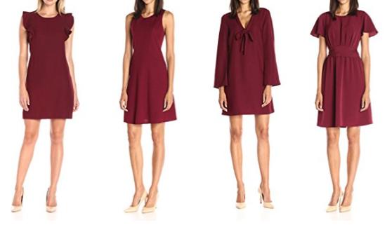 Burgundy dresses - Lark & Ro