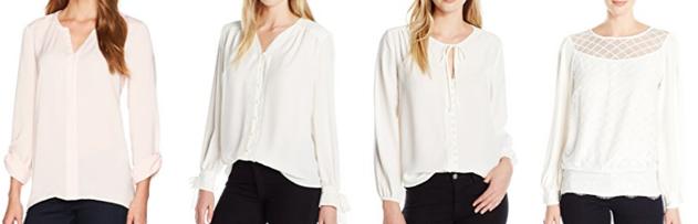 Ivory Lark & Ro blouses