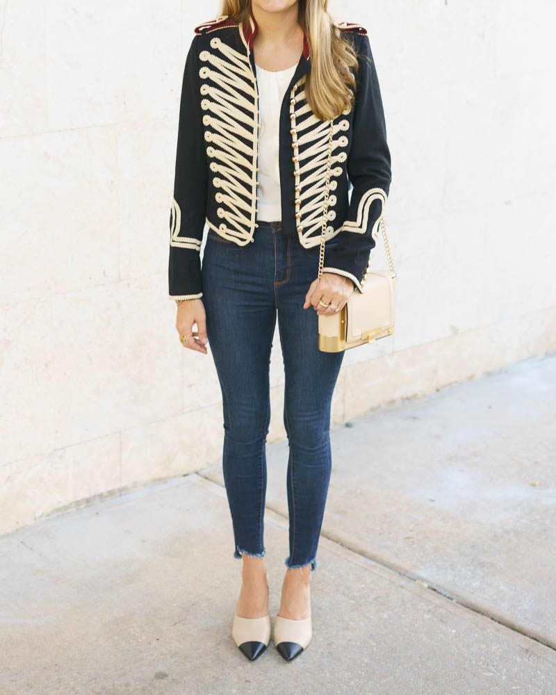 Band jacket outfit
