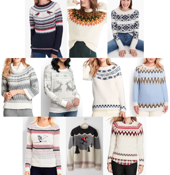 Fair Isle sweaters on a budget