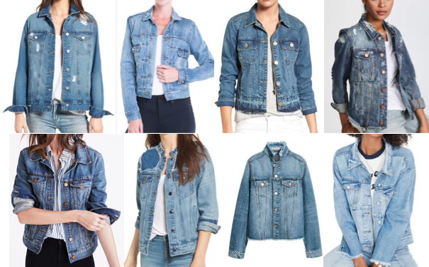 Denim jacket on a budget