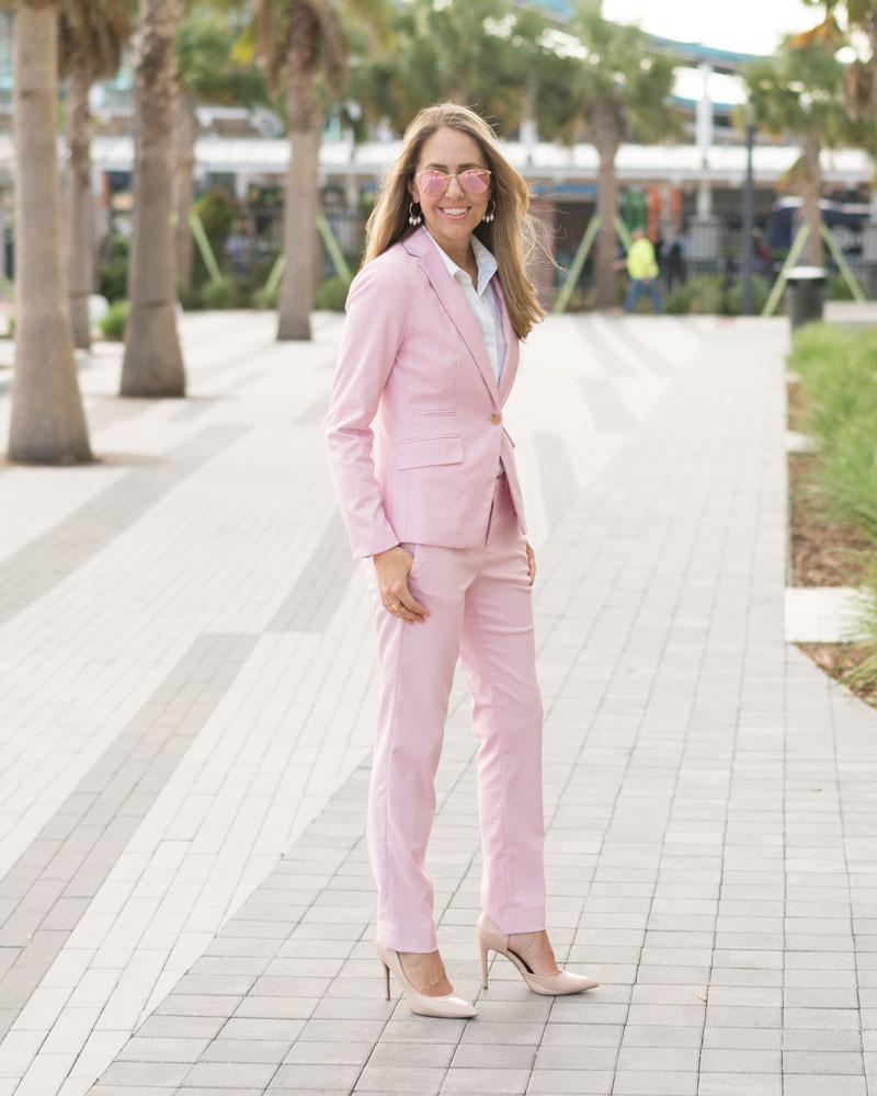 Pink suit BR Factory