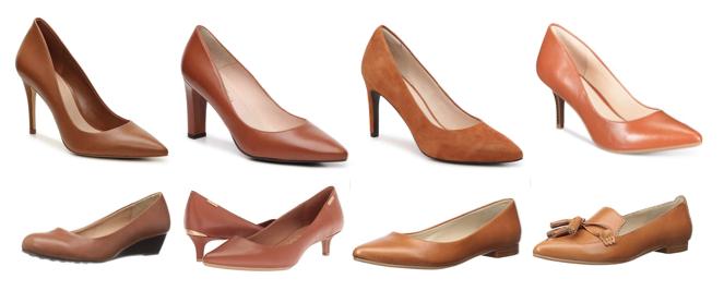 Cognac shoes on a budget