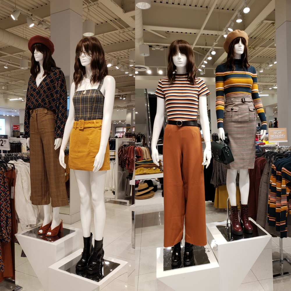 Fall inspiration at the mall