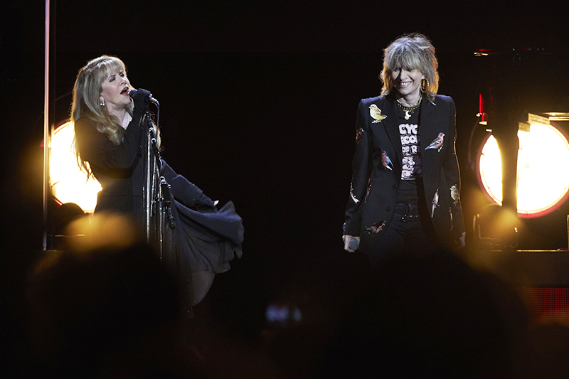 Stevie Nicks + Chrissie Hynde