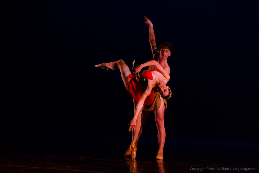 The Manassas Ballet performing Diana and Actaeon