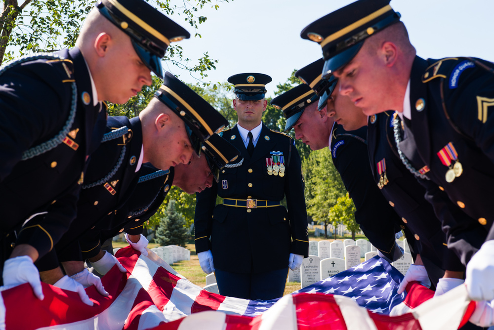 Memorial Service at Arlington National Cemetery
