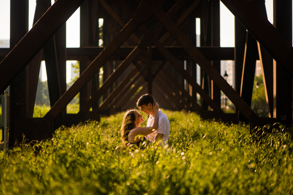 Richmond engagement session.