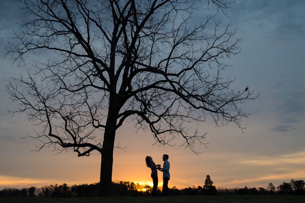 Manassas National Battlefield Engagement Sunrise