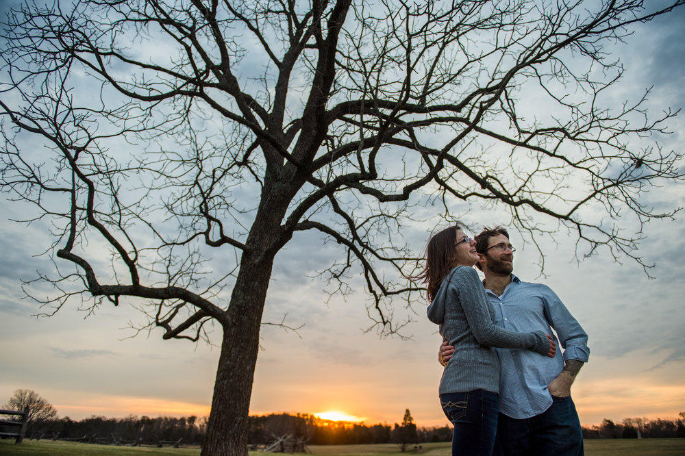 Manassas Engagement Session