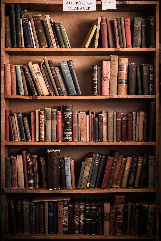Old Books Prosperos Bookstore Manassas