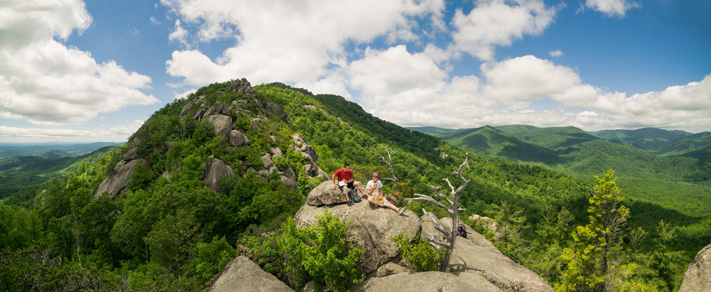 Old Rag, one of our favorite hikes in the Shenandoah.