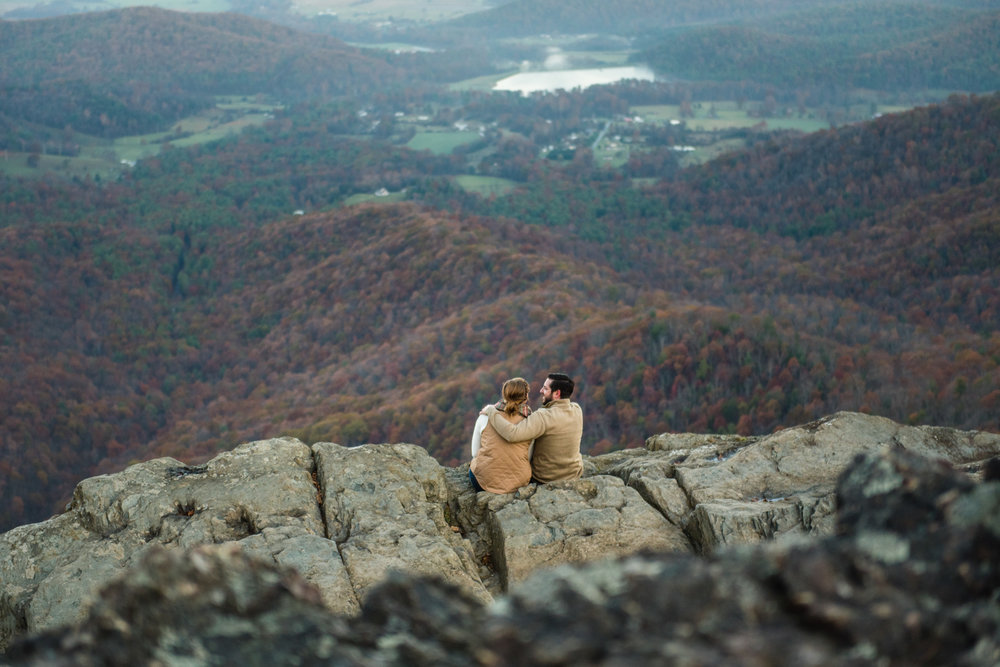 Luray engagement session