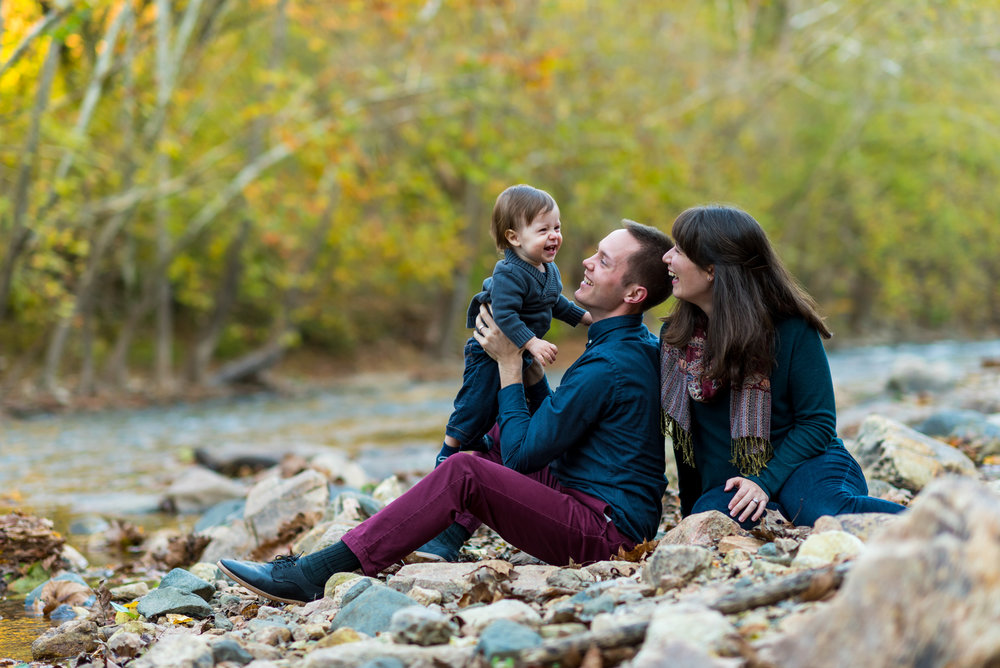 My wife Hannah and I with our son, Nathaniel.