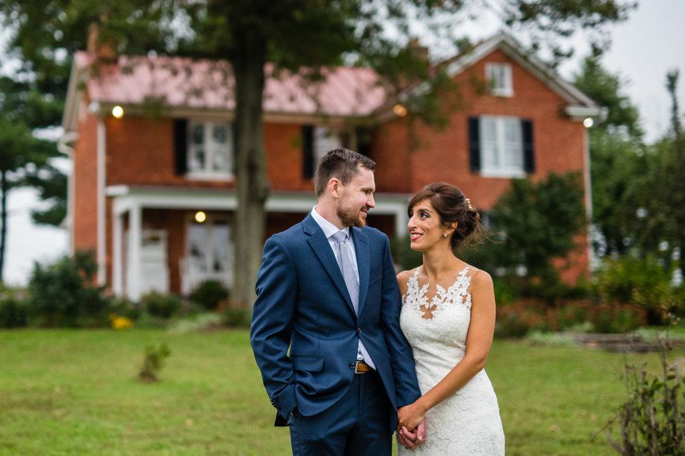 Fall wedding at East Lynn Farm