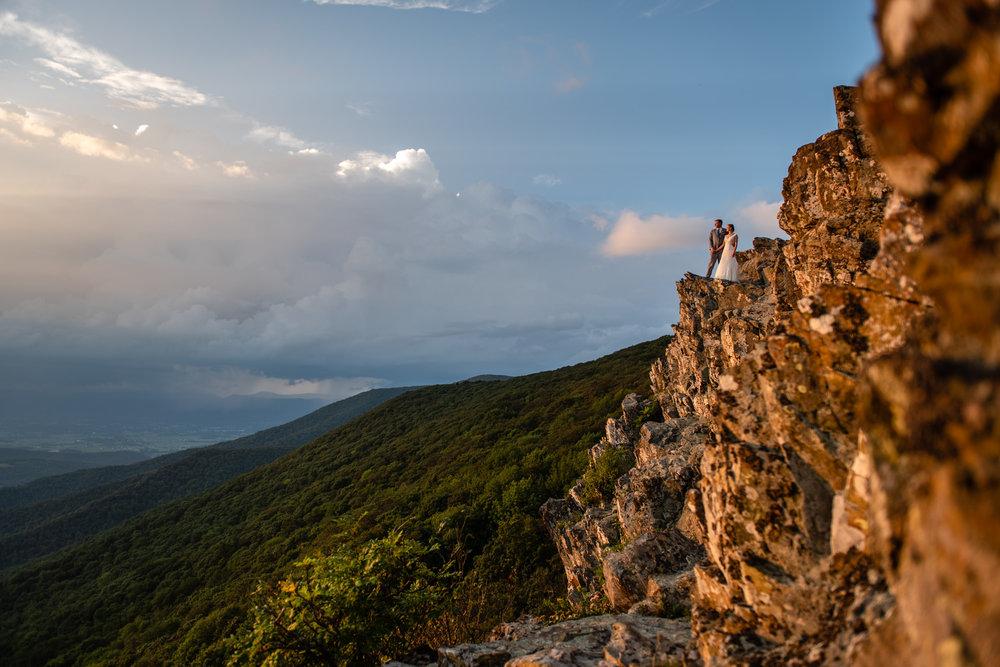 John and Diane's Mountaintop Wedding