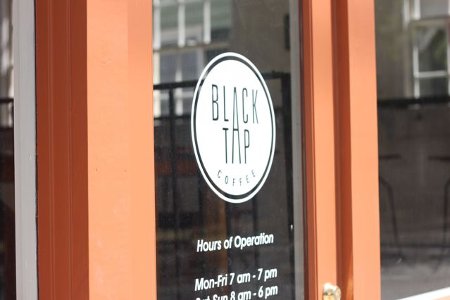 1 black tap door.jpg & black tap coffee \u2014 passports \u0026 pancakes