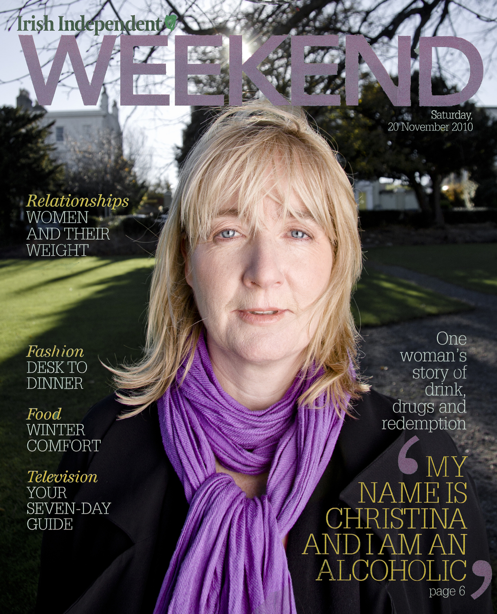 The Irish Independent   Weekend Magazine.