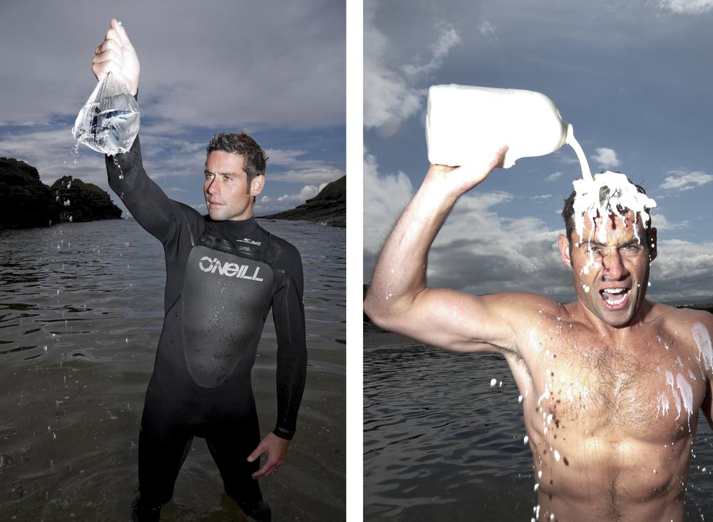 Irish big wave surfer     Richie   Fitzgerald    .