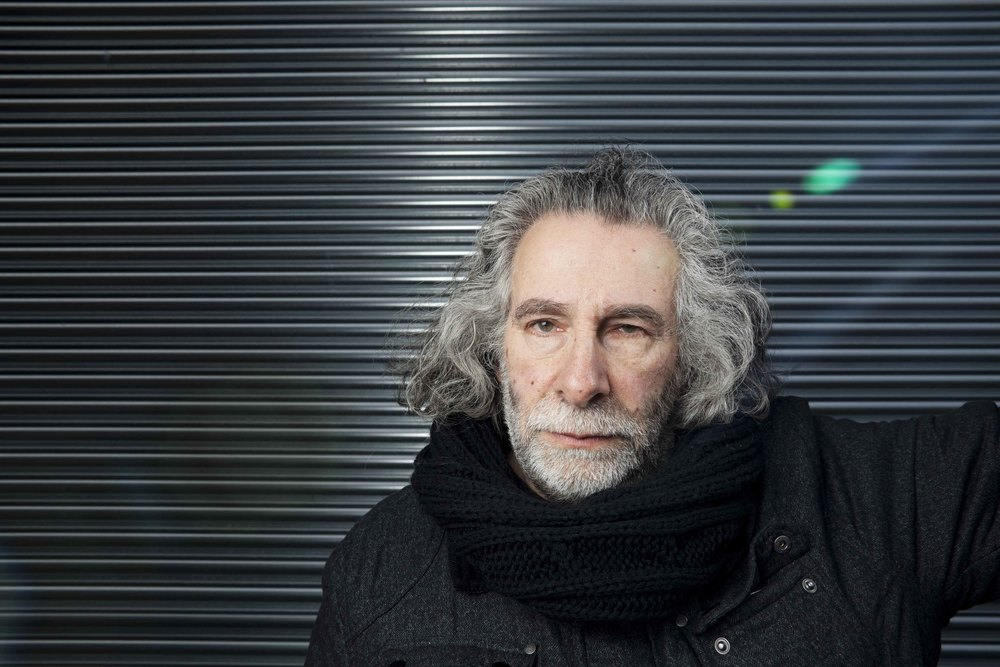 Dublin. April 2013.   Kevin Godley  ,  member of bands such as 10cc and Godley & Cream, director of music  videos for U2, Sting, The Beatles, Snow Patrol, etc. Founder of   WholeWorldBand  .