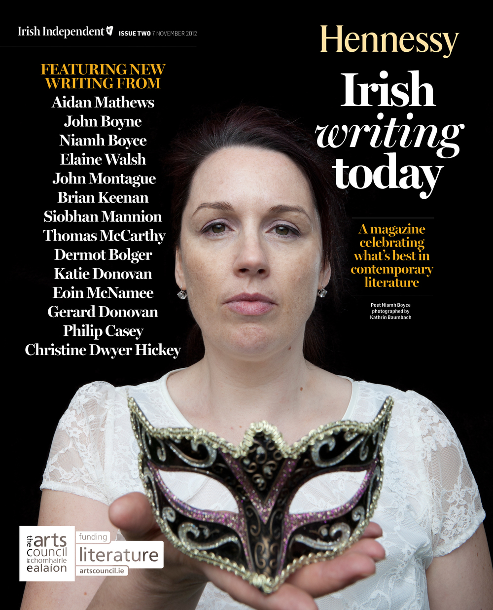 The Irish Independent   ,  Hennessy Irish Writing Today  supplement