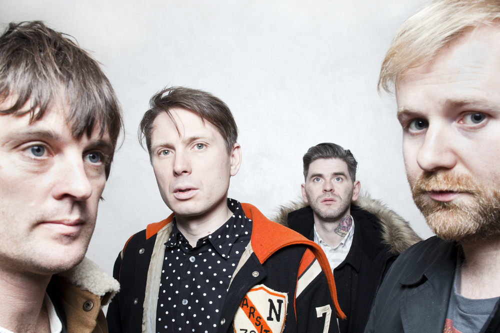 Franz Ferdinand   photographed for   Hot Press Magazine  .