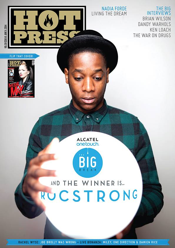 Rocstrong , photographed exclusively for the cover of  Hot Press  Magazine.