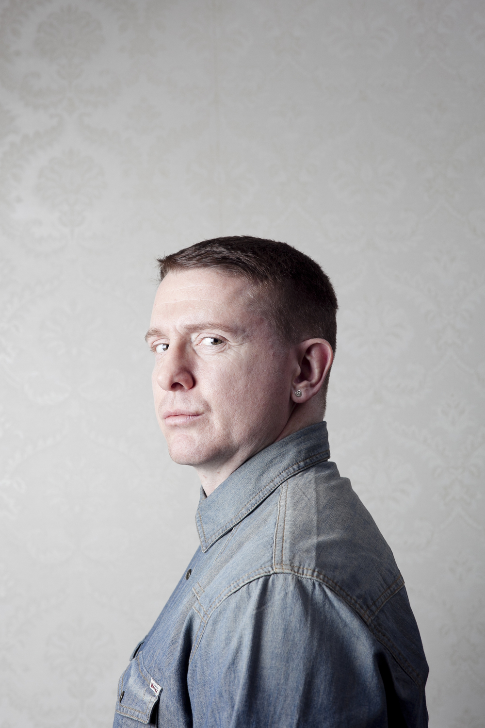 Damien Dempsey  photographed for  Hot Press Magazine .