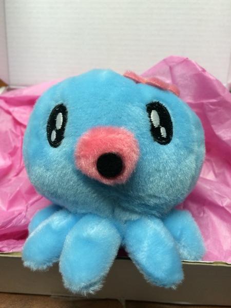 An octopus plushie!