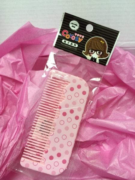 A mini comb!