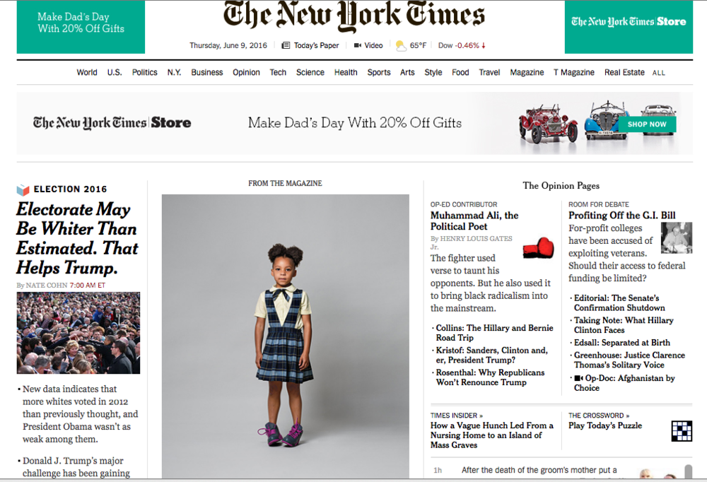 New york times magazine personal essays
