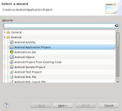 Create Android Application Project