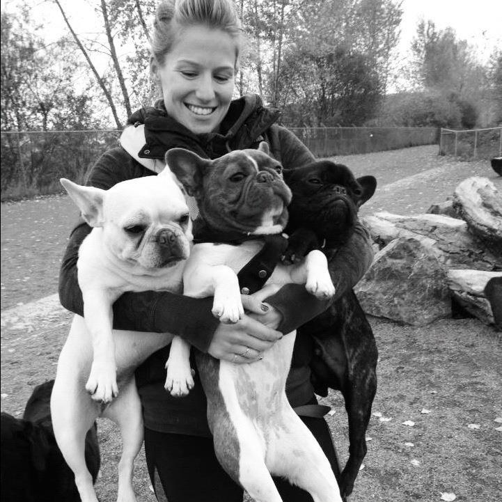 Kelley and frenchies